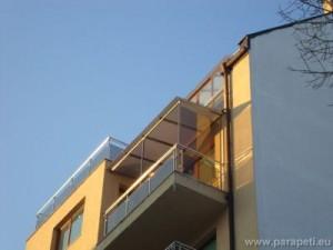 Покриване на тераса със стъкло